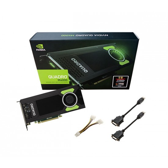 LEADTEK QUADRO M4000 PCI-EX16 8GB DDR5 DPX4, SLI SUPPORT, QUADRO SYNC, OEM  PACK, REPLACING K4200