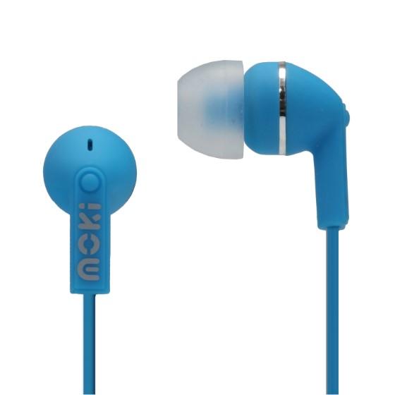 b12b4ef3278 MOKI DOTS NOISE ISOLATION EARBUDS - BLUE